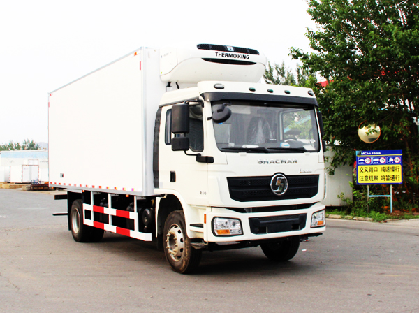 SHACMAN L3000 Refrigerated Freezer Chill Truck