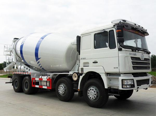 shacman mixer truck