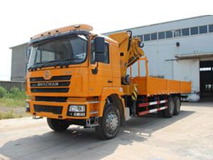 shacman crane truck