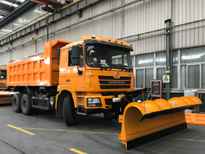 Shacman Snow Sweeper