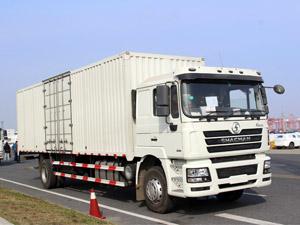 shacman steel box truck