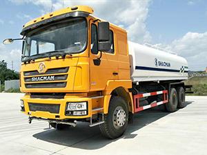 shacman water truck