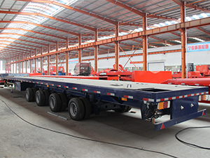 4 Axles Extendable semi trailer for windmill blade